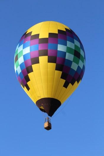 Quilt balloon -- Albuquerque's Balloon fiesta 2014