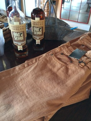 Jeans dyed with Ambler whiskey -- Marc Nelson Denim