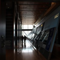 Inside Clinton Presidential Library
