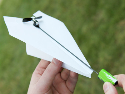 Electric Motor For Paper Airplanes