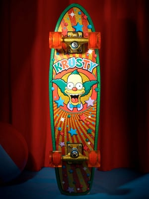 Krusty Skateboard