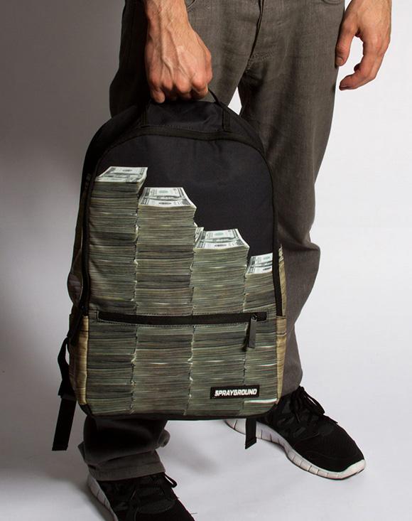 Stacks Of Cash Backpack