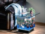 Aquarium End Table