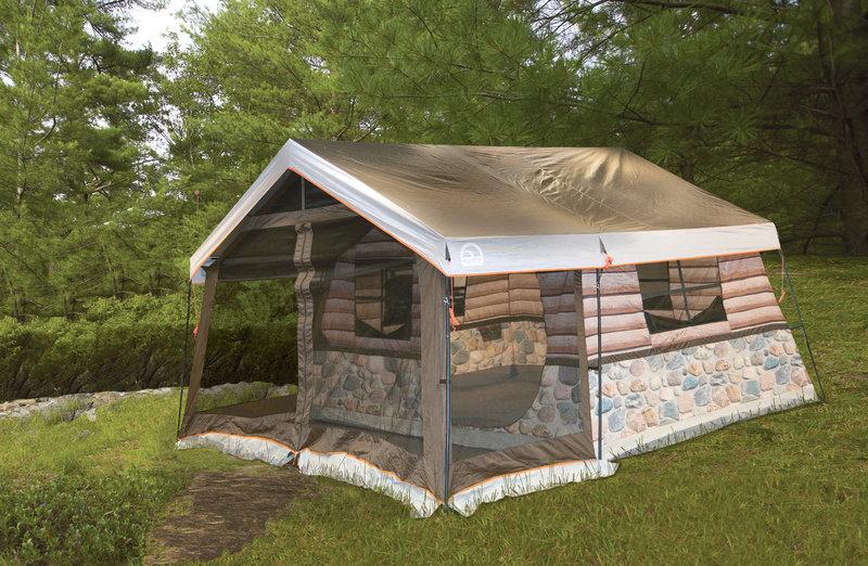Log Cabin Tent