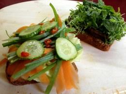 Veganes Sandwich