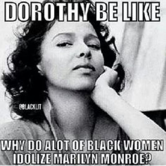 If You Read One Article About Marilyn Monroe Vs Dorothy Dandridge ... 7a4cfcdd1