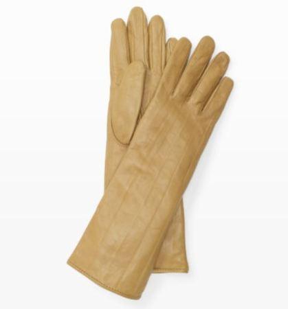 Club Monaco Beige Gloves