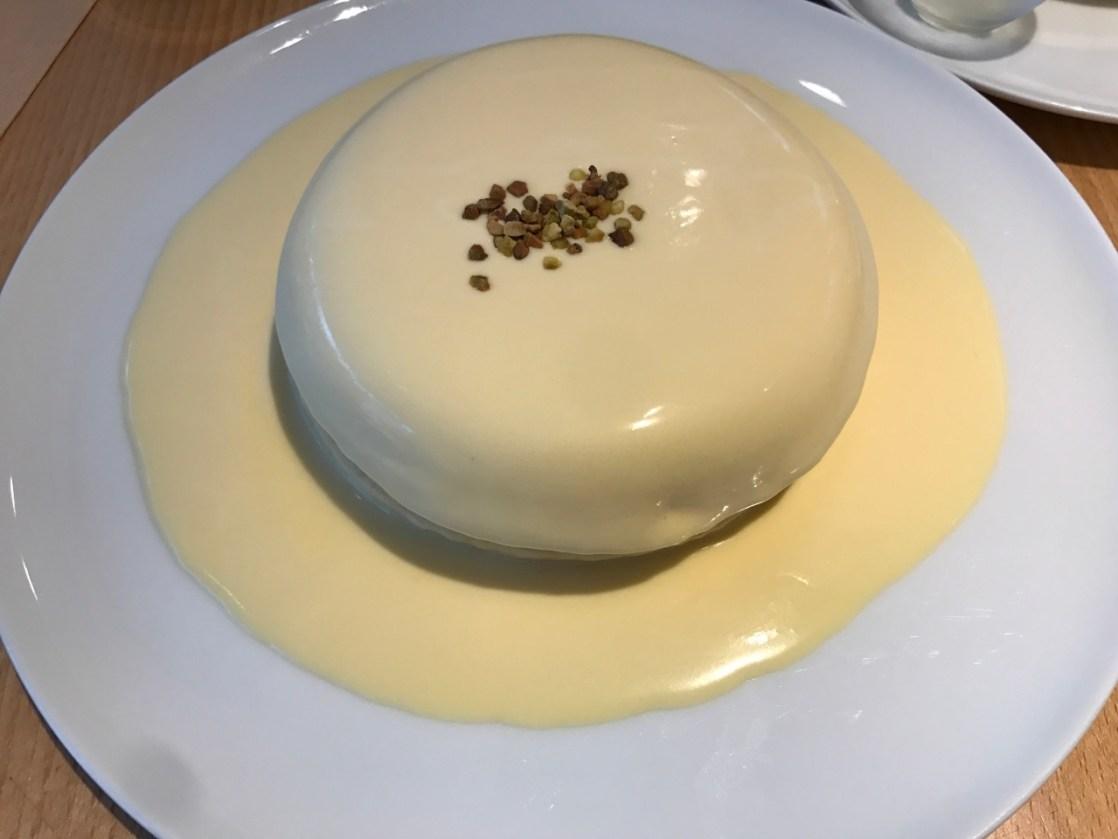 リストランテのパンケーキ