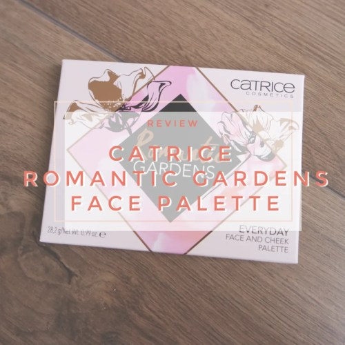 catrice romantic gardens everyday cheek and face palette blush bronzer highlight review swatch