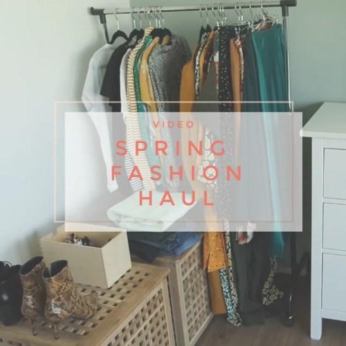 Spring Fashion Haul 2019 Wardrobe Update Topshop, H&M, Monki, ZARA, & Other Stories, Primark