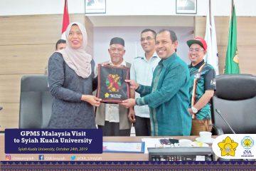 GPMS Malaysia Visit to Syiah Kuala University