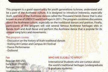 Summer Camp - Aceh Heritage