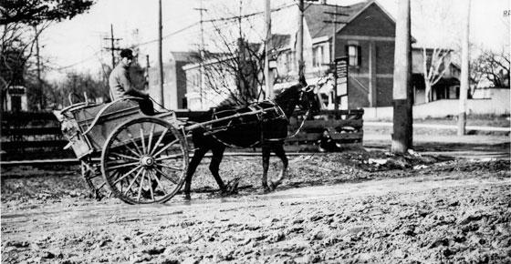 St Clair e Yonge em 1908