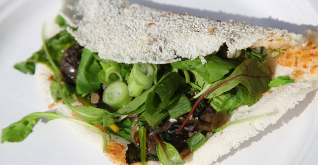 Tapioca Vegetariana