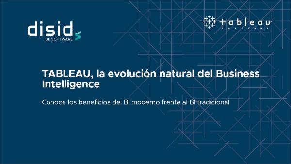 """Webinar """"Tableau, la evolución natural del business intelligence"""", organizado por oicteam.com y PTEC, impartido por Fernando Cervera"""