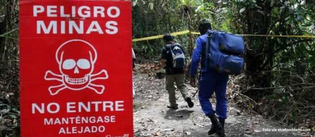 minas en colombia