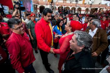 Farc y Maduro