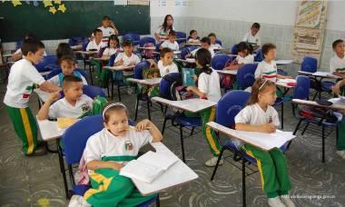 niños de colegios en Santander