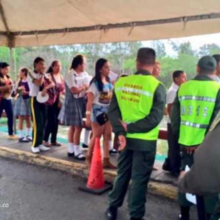 estudiantes frontera Venezuela
