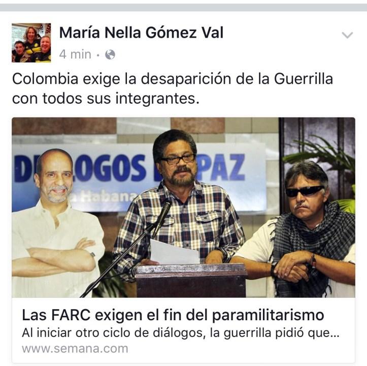 No mas Farc
