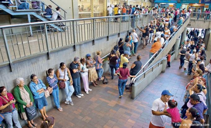 filas venezuela