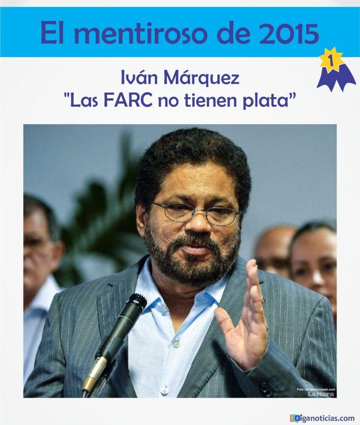 Mentiroso Ivan Marquez