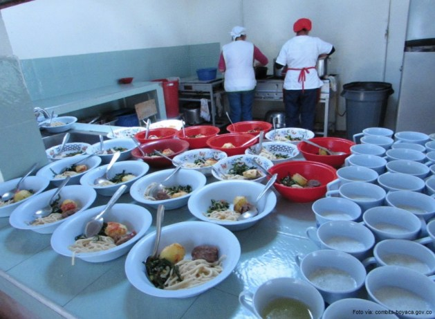 alimentaicón escolar