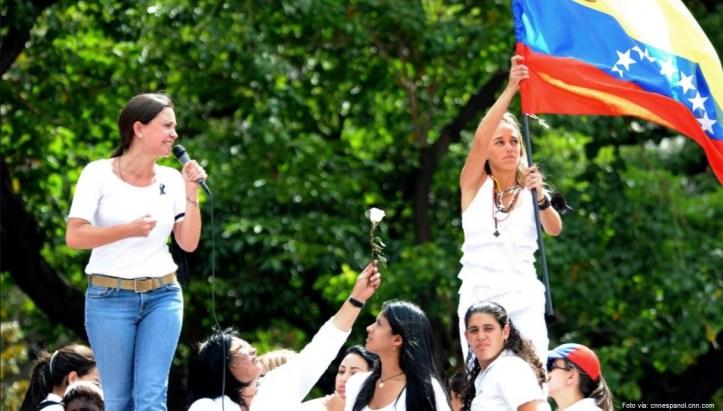 venezuela maria Corina y lilian
