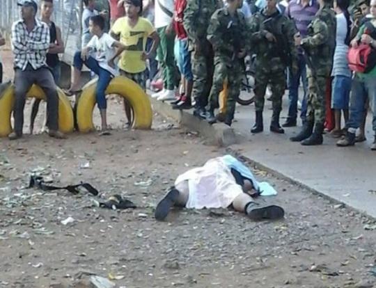 militar asesinado