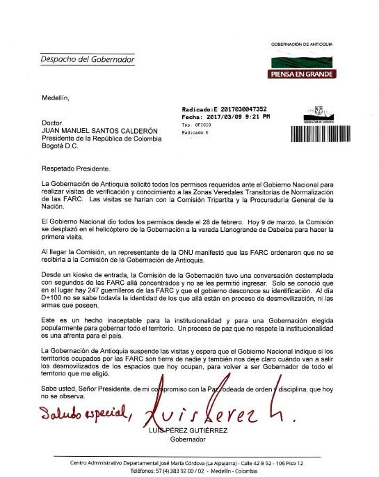 carta gobernador de antioquia