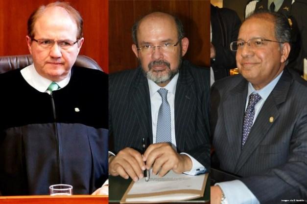 José Leonidas Bustos,Francisco Ricaurte, Camilo Tarquino