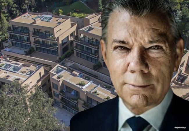 ¿De dónde sacó Santos más de $ 6.000 millones de pesos para comprar esta casa en Bogotá? (video)