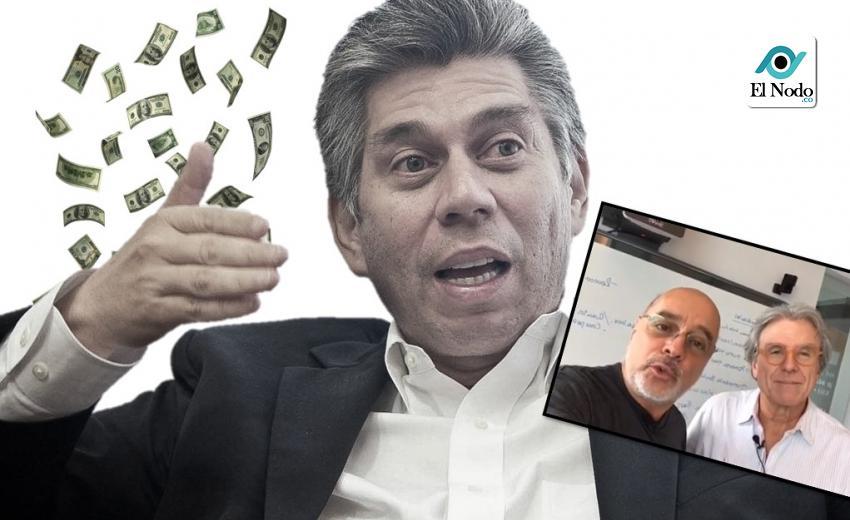"""El """"pastel de 400 millones de dólares"""" regalo de Santos a Daniel Coronell"""