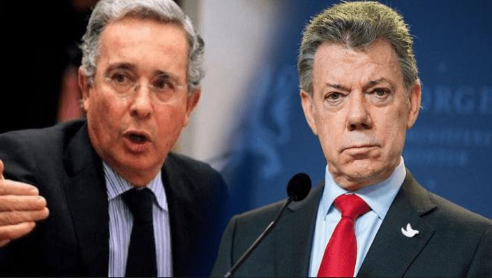 Uribe revela prueba de corrupción de Santos con Odebrecht