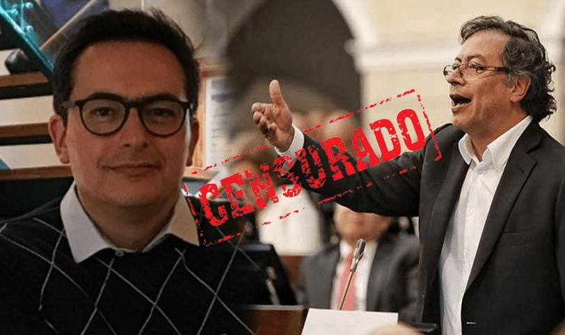 Se destapa escándalo por Petro censurar periodistas en Bogotá