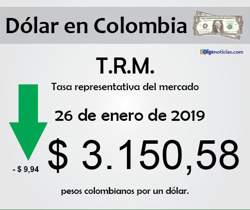 dolar 26ene2019