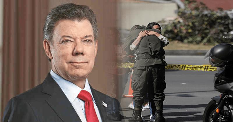 Martín Santos quiere ocultar que el terrorismo de Colombia es gracias a la impunidad de su padre