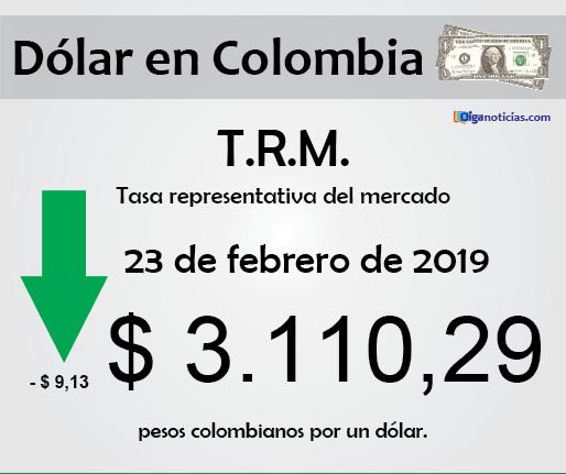 dolar 23feb2019