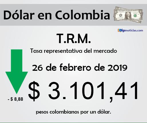 dolar 26feb2019