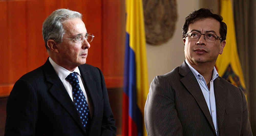 Uribe le lanza una clara advertencia al exterrorista Petro