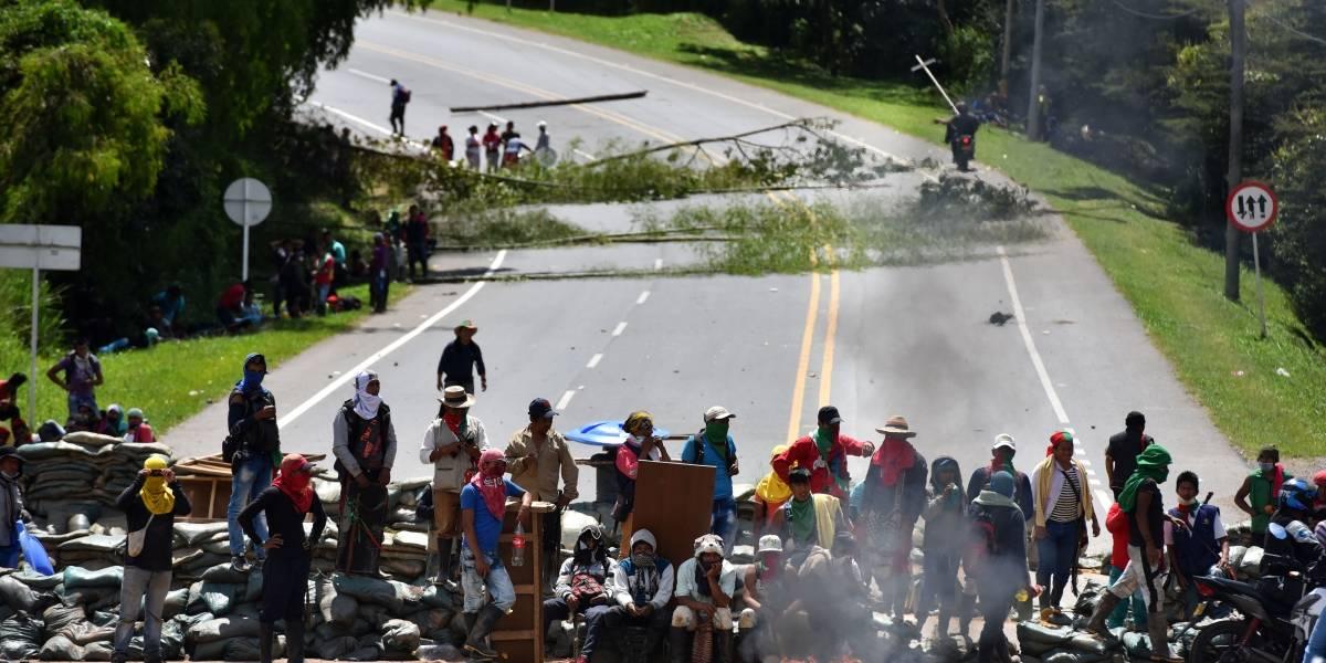 Fuerte mensaje para los indígenas que bloquean la vía Panamericana