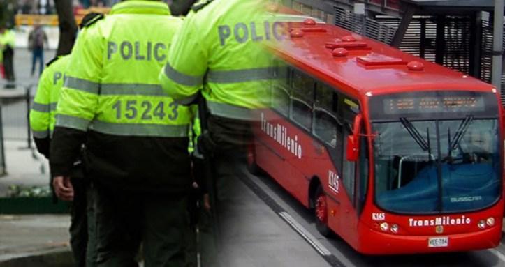 policia transmilenio