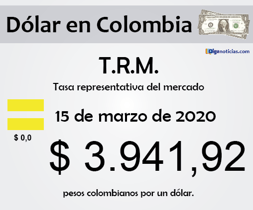 dolar 15mar20