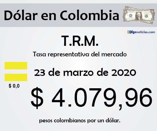 dolar 23mar20