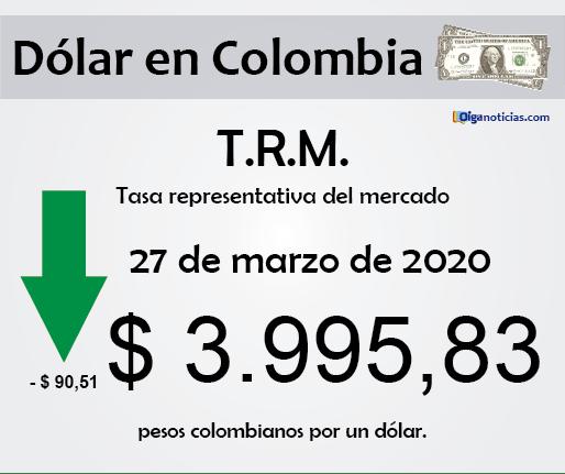 dolar 27mar20