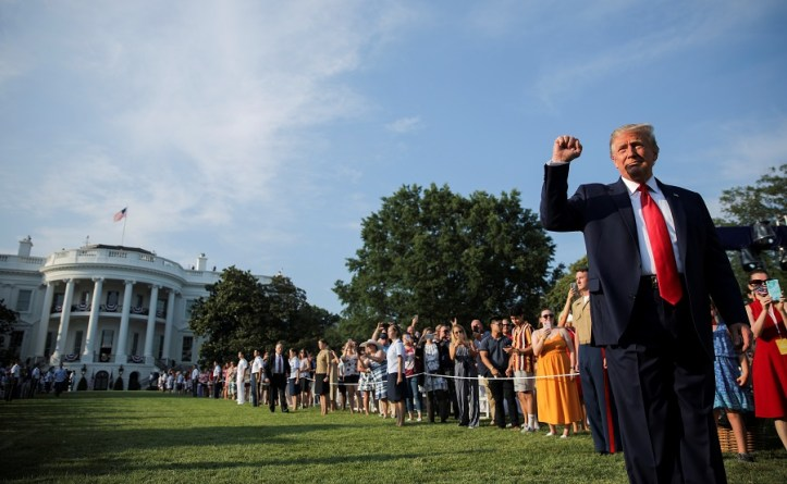 U.S. President Donald Trump holds 4th of July U.S. Independence Day celebrations at the White House