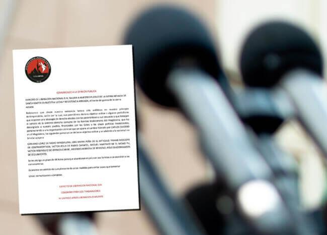 periodistas_amenazas_eln_santa_marta_afp_panfleto_eln.jpg