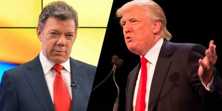 Presidente Trump arremete contra Santos por entregarle el país a las Farc –  Oiga Noticias