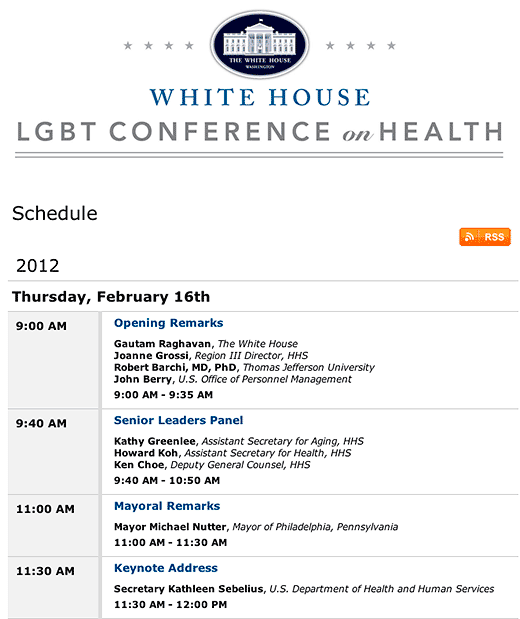 Jefferson Digital Commons: White House LGBT Conference in Health - click to go to this web page.