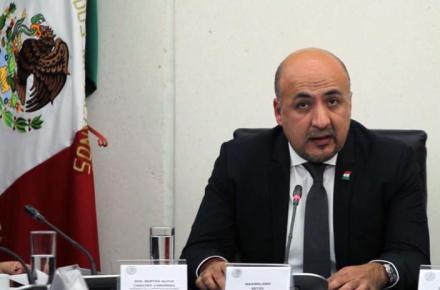 Maximiliano Reyes Zúñiga. Subsecretario para América Latina de México.